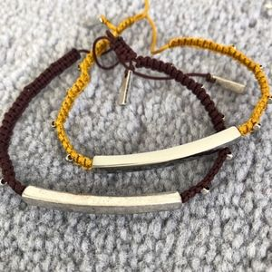 Banana Republic Bracelets, 2 together.